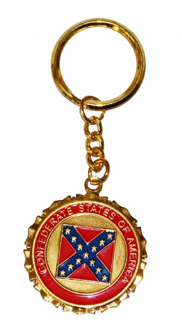 Great Seal Of The Confederacy Keyring